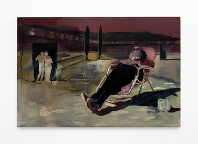 Kate Gottgens | The Old Man (L'uomo Vecchio) | 2020 | Oil on Canvas | 102.5 x 150 cm