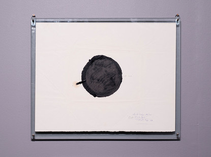 Christo Coetzee | Out Black Spot | 1963 | Oil on Paper | 51 x 63.5 cm