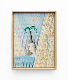 Marlene Steyn   the gorgeous gorge us   2020   Acrylic on Canvas Board   40 x 30 cm