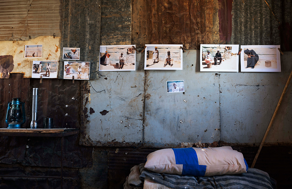Margaret Courtney-Clarke | Portraits of Liskien Gawanas, Namibia, January 2019 | 2019 | Giclée Print on Hahnemühle Photo Rag Paper | 74.5 x 112 cm | Edition of 6 + 2 AP