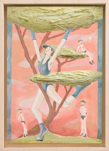 Marlene Steyn | When I grown up... | 2018 | Oil on Canvas | 30 x 21 cm