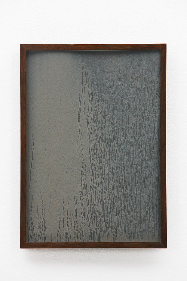 Richard Long | Untitled | 1989 | Mud on Paper | 41 x 28.5 cm