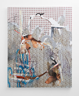 Asha Zero | eci_acct | 2018 | Acrylic on Board | 164 x 131 cm