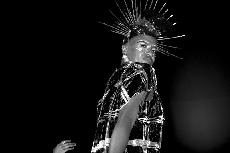 Musa N. Nxumalo | Vogue Nights Jozi II | 2019 | Giclée Print on Hahnemühle Photo Rag, Diasec Mount | 150 x 210 cm | Edition of 6  + 2 AP