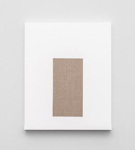 Pierre Vermeulen | Gesso Space nr 3 | 2020 | Gesso on Belgian Linen | 50 x 40 cm