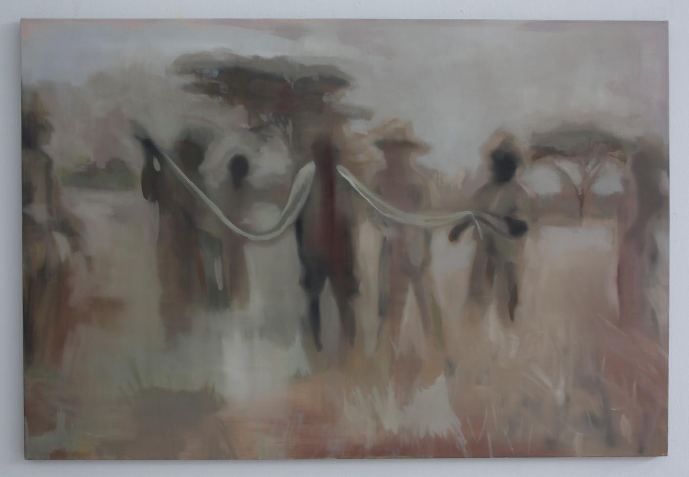 Kate Gottgens | Bushveld | 2014 | Oil on Canvas | 102 x 150 cm