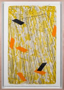 Mongezi Ncaphayi | Jour de Grace | 2014 | Lithograph | 89 x 62 cm