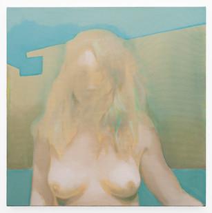 Kate Gottgens | The Distance #7 | 2019 | Oil on Canvas | 68.5 x 68.5 cm