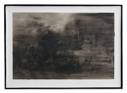 Alexandra Karakashian | Untitled | 2014 | Mixed Media on Paper | 90.5 x 140.5 cm
