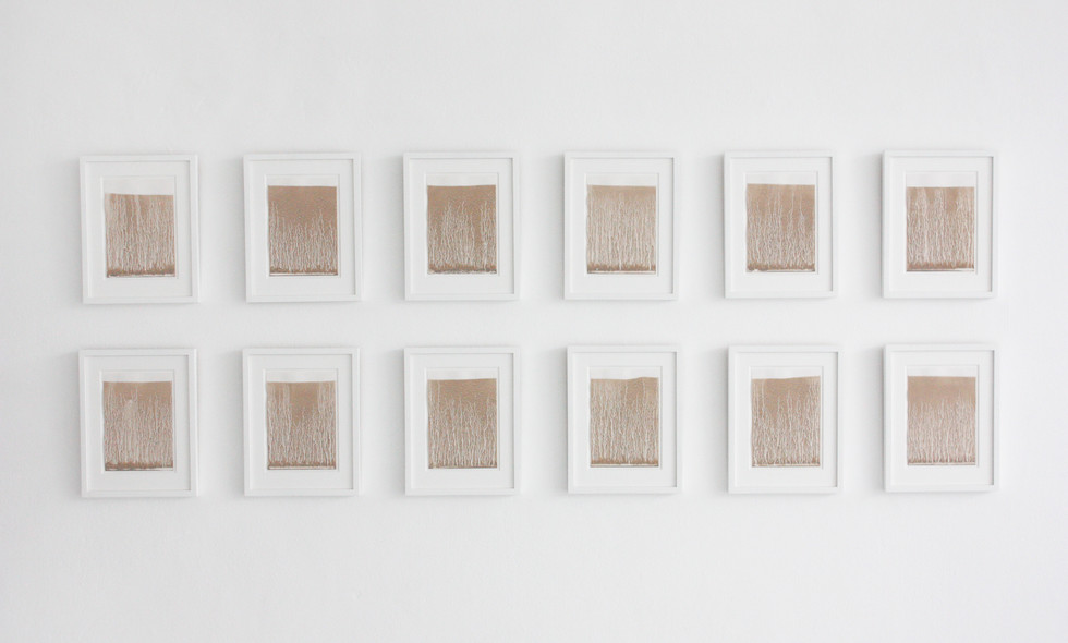Richard Long | Works on Paper | 2012 | Installation View