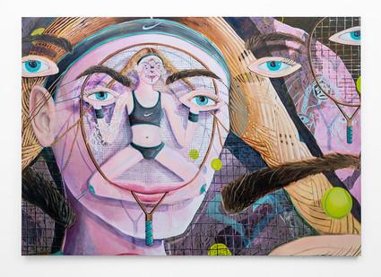 Marlene Steyn   Her almost 30-love hers   2018   Oil on Canvas   190 x 270 cm