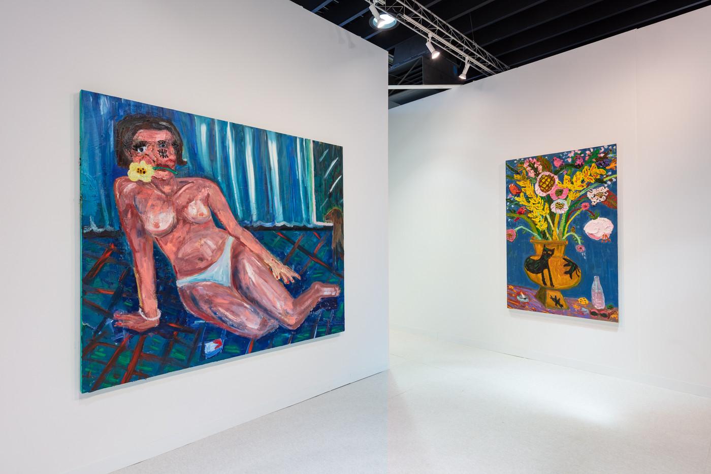 Georgina Gratrix | The Armory Show | 2020 | Installation View | © Silvia Ros Photography