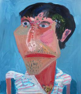 Georgina Gratrix | More Famous Friend | 2011 | Oil on Canvas | 160 x 130 cm