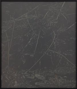 Peter Eastman   Deep Chine - Coldstream VIII   2017   Oil on Aluminium   40 x 35 cm