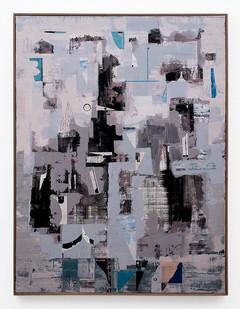 John Murray | Deflect | 2018 | Acrylic on Canvas | 120 x 90 cm