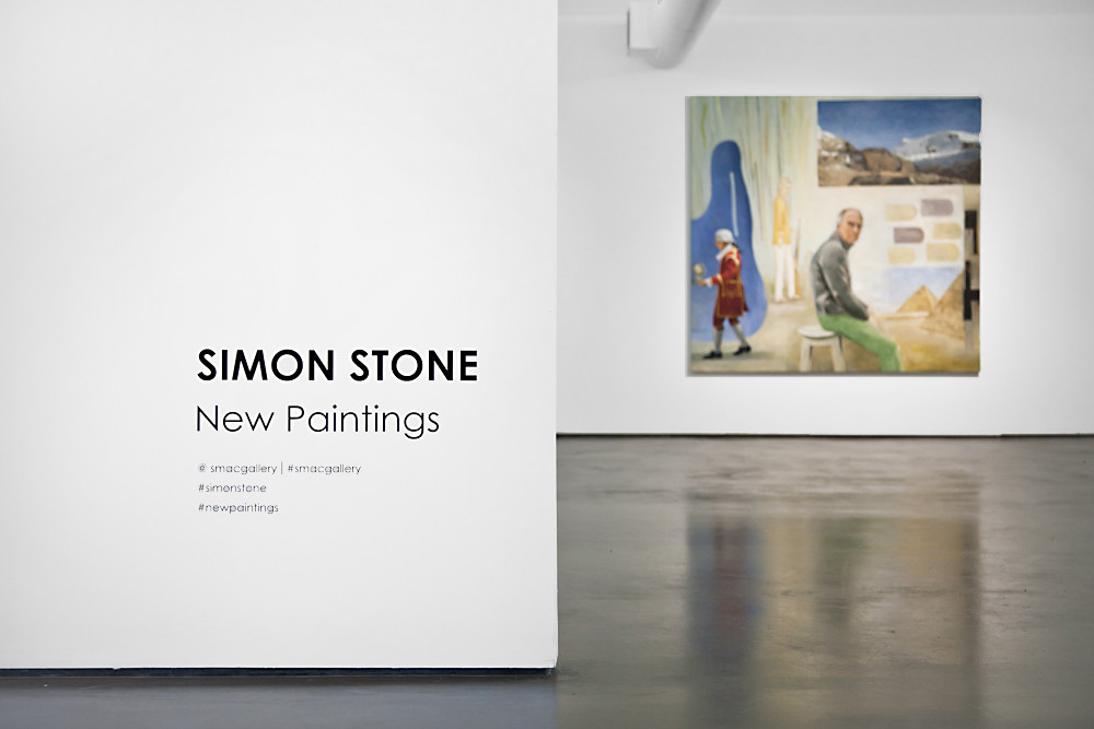 Simon Stone | New Paintings | 2016 | Installation View