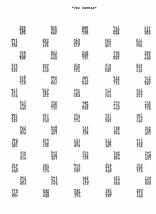 Willem Boshoff | Kyk Afrikaans: Pro Patria | 2003 | Silkscreen Print on Paper | 73 x 45 cm