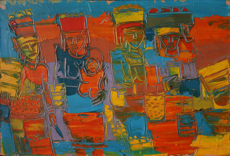 Walter Batiss | Untitled | n.d | Oil on Canvas | 29.5 x 34 cm