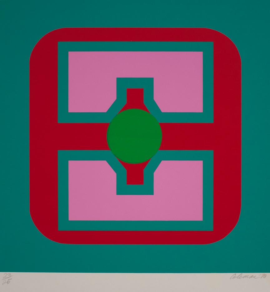 Trevor Coleman | Untitled | 1970 | Screenprint on Paper | 65 x 50 cm | Edition of 25
