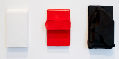Helen A. Pritchard   Untitled - Carrier Ex 7,8,9   2013   Plaster and Enamel Paint   Sizes Variable