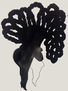 Shoshanna Weinberger | Doppelgänger | 2014 | Gouache on Paper | 76 x 56.5 cm