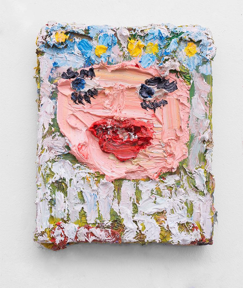 Georgina Gratrix | Lus vir n Wyfie | 2017 | Oil on Canvas | 30 x 25 cm