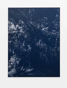 Peter Eastman | Late Shadow Riverbank | 2018 | Oil on Aluminium | 184.5 x 149.5 cm