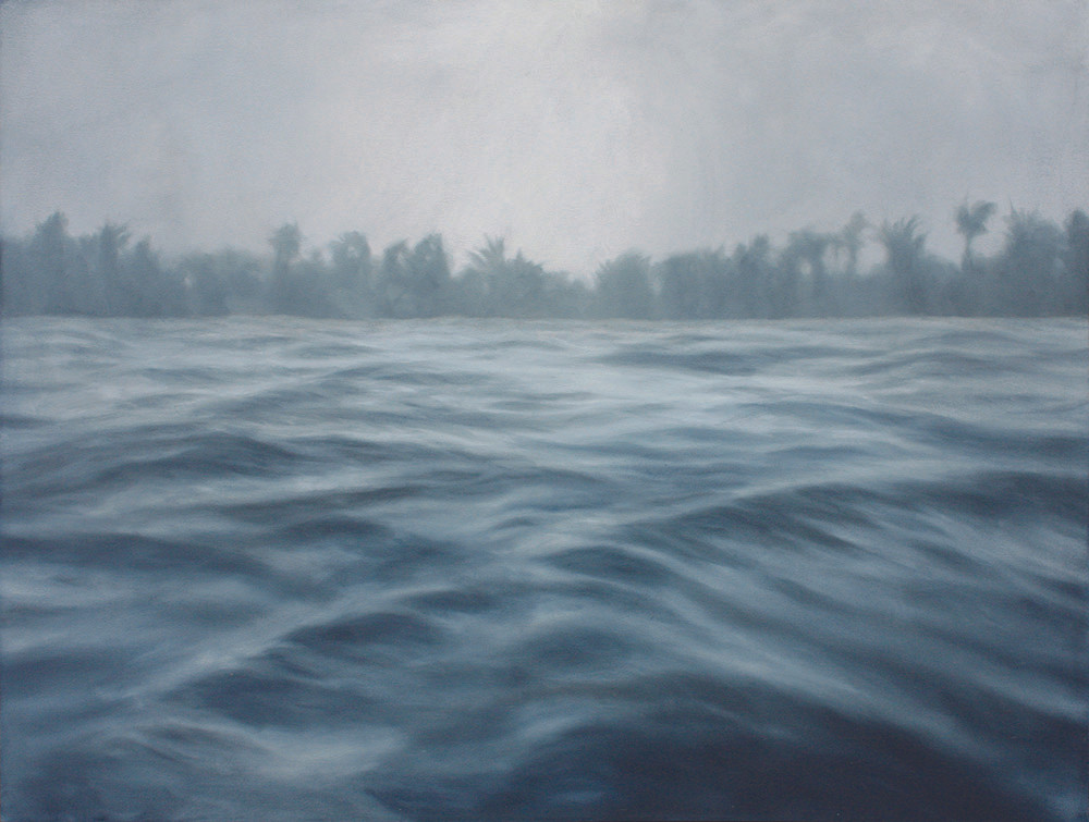 Jake Aikman | N10.839881, W85.874317 | 2013 | Oil on Canvas | 97 x 127 cm