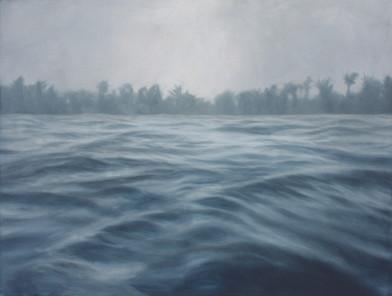 Jake Aikman   N10.839881, W85.874317   2013   Oil on Canvas   97 x 127 cm