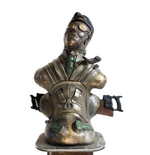 David Brown | The Surgeon | 2013-2015 | Bronze | 188 cm | Edition of 3 + 2 AP