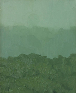 Jake Aikman | N13.216885, W88.447205 | 2013 | Oil on Canvas | 30.5 x 23 cm