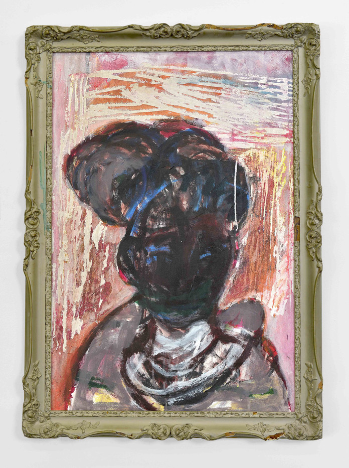 Mostaff Muchawaya | Ambuya | 2017 | Acrylic on Canvas | 105 x 73 cm