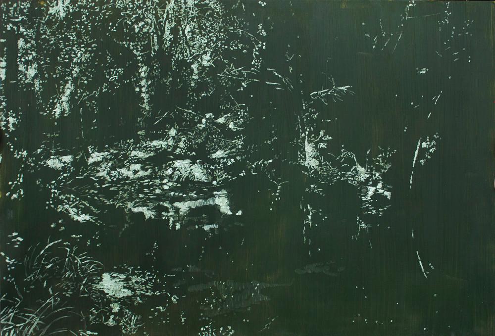Peter Eastman | Deep Chine VIII | 2014 | Oil on Aluminium | 56 x 82 cm