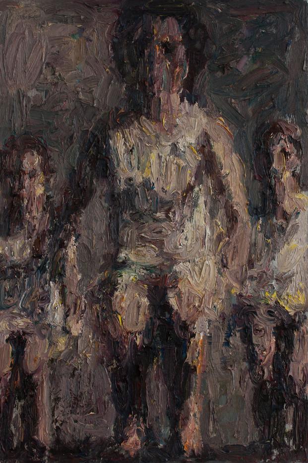 Anton Karstel | watch (1) | 2013 | Oil on Canvas | 60 x 40 cm