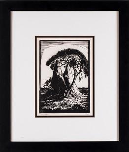 Jacobus Hendrik Pierneef | Ant Hill | n.d. | Linocut | 21 x 15 cm
