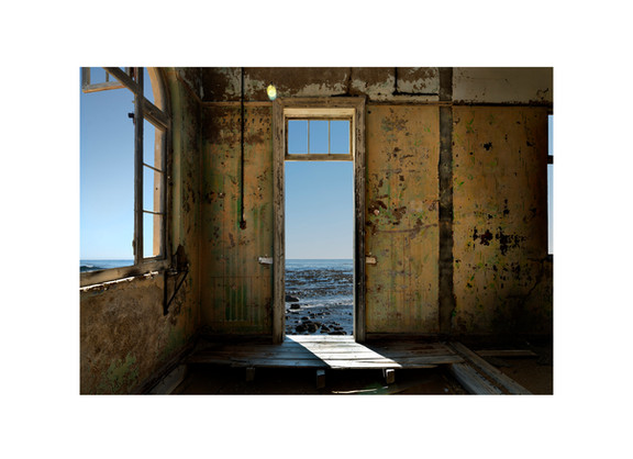 Giovanni Ozzola | Ghost Town with Dreams | 2015 | Giclee Print on Epson Hot Press Natural Paper | 150 x 216 cm