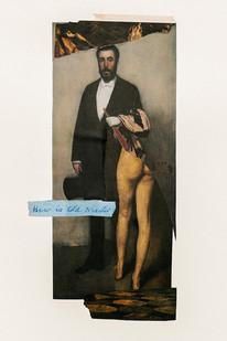 Kate Gottgens   Old Master   2020   Collage on Paper   42 x 30 cm
