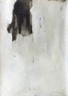 Alexandra Karakashian | Omit II | 2016 | Oil on Paper | 140 x 99 cm
