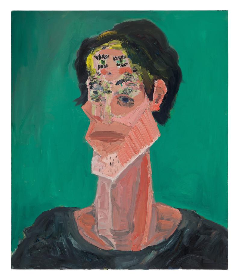Georgina Gratrix   Portrait of a Painter   2011   Oil on Canvas   120 x 100 cm