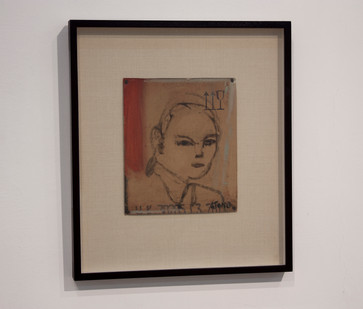 Simon Stone   Quick Youth   2014   Oil on Cardboard   21.5 x 18.5 cm