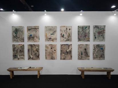 Mongezi Ncaphayi | Art X Lagos | 2019 | Installation View