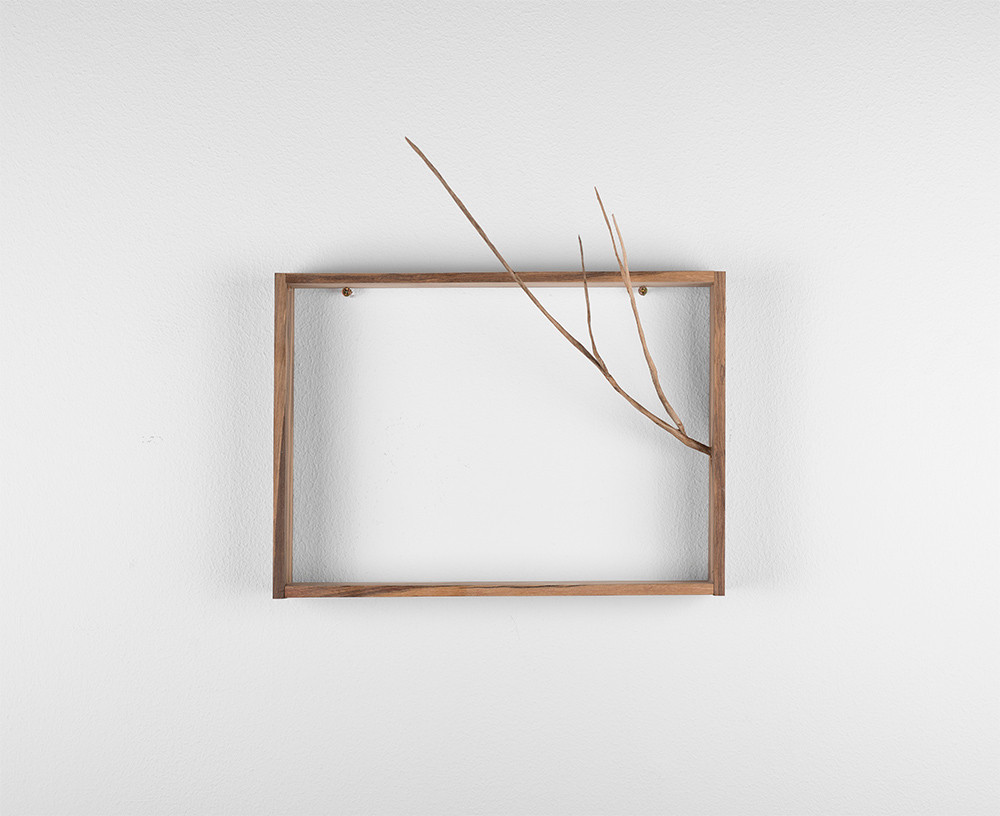 Ruann Coleman   Reach II   2017   Iron Wood   30 x 30.2 cm