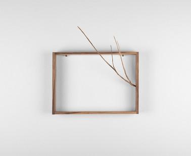 Ruann Coleman | Reach II | 2017 | Iron Wood | 30 x 30.2 cm
