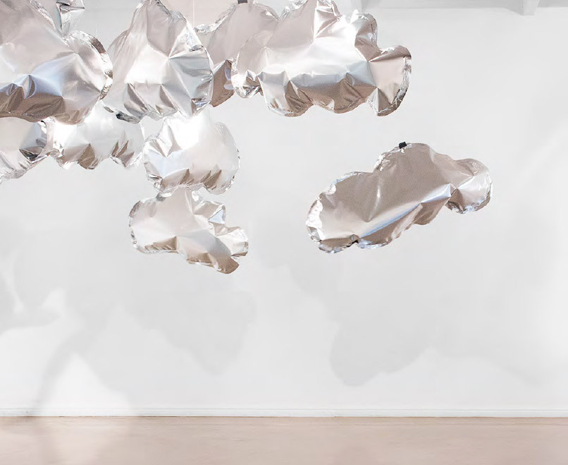 Katharien de Villiers | Cloud Formations | 2016 | Mylar Film 'Clouds' | Dimensions Variable