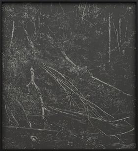 Peter Eastman | Deep Chine - Coldstream IV | 2016 | Oil on Aluminium | 40 x 34 cm