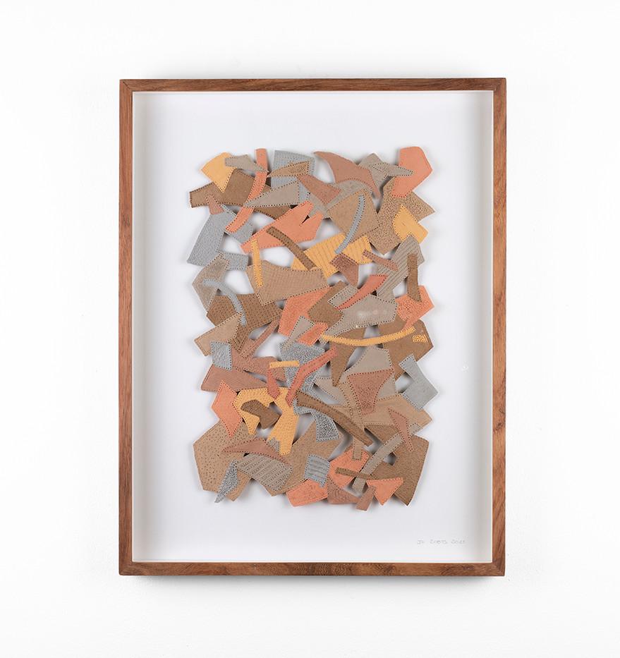 Jo Roets   Transiçã 2   2020   Air-Drying Clay   46.5 x 35 x 3.5 cm