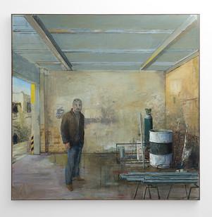 Simon Stone | Non Ferrous | 2017 | Oil on Canvas | 190 x 190 cm