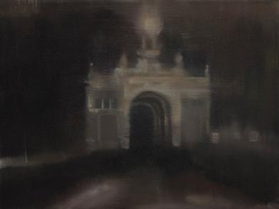 Kate Gottgens | Gateway | 2014 | Oil on Canvas | 30.5 x 40.5 cm