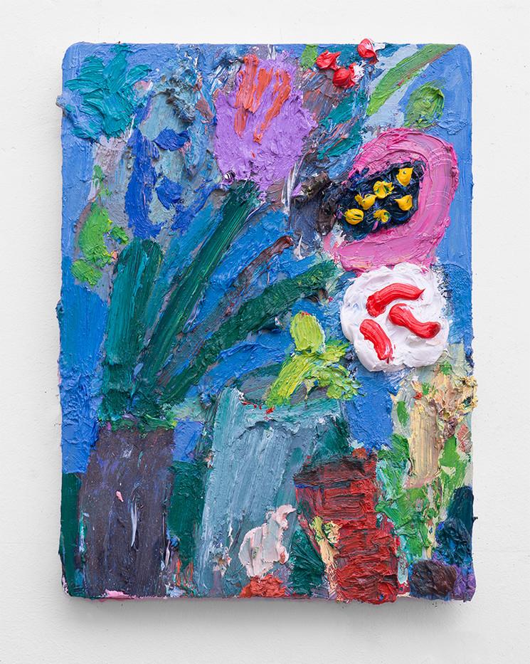 Georgina Gratrix | Study 1 | 2017 | Oil on Canvas | 40 x 30 cm