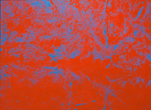 Peter Eastman | Deep Chine XXVI | 2014 | Oil on Aluminium | 94 x 130 cm